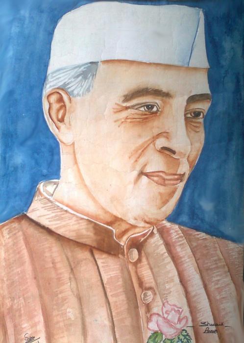 Jawaharlal Nehru by shanoj7